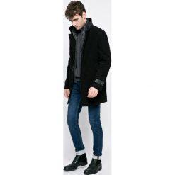 Trussardi Jeans - Płaszcz. Szare płaszcze na zamek męskie marki Trussardi Jeans, s, z bawełny. W wyprzedaży za 1199,00 zł.