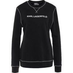 Bluzy damskie: KARL LAGERFELD ESSENTIAL Bluza black