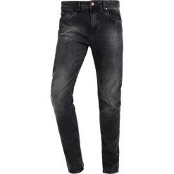 KIOMI Jeansy Slim Fit black denim. Czarne jeansy męskie marki KIOMI. W wyprzedaży za 126,65 zł.
