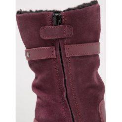 Kickers Śniegowce bordeaux. Niebieskie buty zimowe damskie marki Kickers, z kauczuku, na sznurówki. Za 559,00 zł.