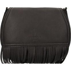 """Torebki klasyczne damskie: Skórzana torebka """"Bourse"""" w kolorze czarnym – 22,5 x 20 x 4,5 cm"""