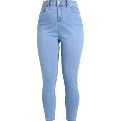 New Look Curves SUPER SOFT LIGHT CASH Jeans Skinny Fit light blue. Niebieskie jeansy damskie New Look Curves, z bawełny. Za 129,00 zł.