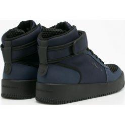 Calvin Klein Jeans - Buty. Czarne halówki męskie marki Calvin Klein Jeans, z gumy. W wyprzedaży za 399,90 zł.