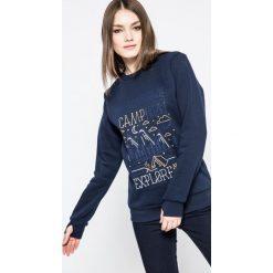 Femi Stories - Bluza Explore. Szare bluzy rozpinane damskie Femi Stories, m, z nadrukiem, z bawełny, bez kaptura. W wyprzedaży za 159,90 zł.