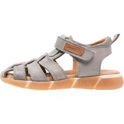 Sandały męskie skórzane: Bisgaard Sandały grey