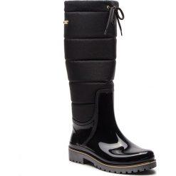 Kalosze KAZAR - Elvira 34826-TS-N0 Black. Czarne buty zimowe damskie Kazar, z materiału. Za 469,00 zł.
