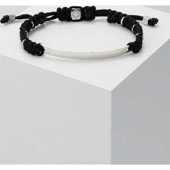 Tateossian MACRAME Bransoletka black/silvercoloured. Czarne bransoletki męskie Tateossian. Za 989,00 zł.
