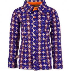 """Koszula """"Take Me Out To The Ballgame"""" w kolorze niebieskim ze wzorem. Niebieskie koszule chłopięce marki 4FunkyFlavours Kids, z klasycznym kołnierzykiem. W wyprzedaży za 102,95 zł."""