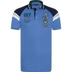 """Koszulki polo: Koszulka polo """"Sand Trap"""" w kolorze niebieskim"""