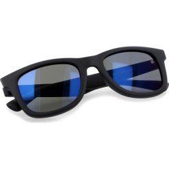Okulary przeciwsłoneczne BOSS - 0213/S Matt Blue LDT. Niebieskie okulary przeciwsłoneczne damskie lenonki marki Boss. W wyprzedaży za 449,00 zł.