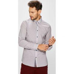 Medicine - Koszula Basic. Szare koszule męskie na spinki MEDICINE, l, z bawełny, button down, z długim rękawem. W wyprzedaży za 103,90 zł.