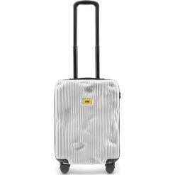 Walizka Stripe kabinowa Bianco White. Białe walizki Crash Baggage, małe. Za 1049,00 zł.