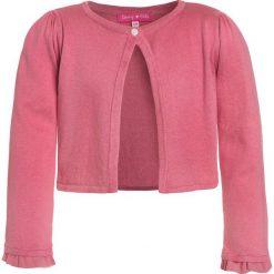 Derhy ROMANE GILET MAILLE Kardigan coral. Czerwone swetry chłopięce marki Derhy, z bawełny. Za 169,00 zł.