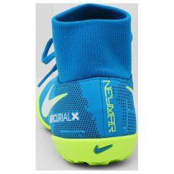 Buty sportowe chłopięce: Nike Performance MERCURIALX VCTRY 6 DF NJR TF Korki Turfy blue orbit/white/armory navy