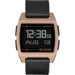 Zegarki damskie: Zegarek unisex Nixon Base Leather Antiqe Cooper Black A1181-872