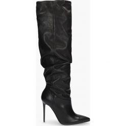 Kozaki czarne Jazmin. Czarne buty zimowe damskie Badura. Za 439,99 zł.