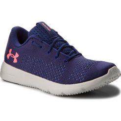 Buty UNDER ARMOUR - Ua W Rapid 1297452-401 Blu. Niebieskie buty do biegania damskie Under Armour, z gumy. W wyprzedaży za 169,00 zł.