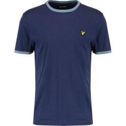 T-shirty męskie: Lyle & Scott RINGER  Tshirt basic dark blue