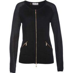 Sweter rozpinany bonprix czarny. Białe kardigany damskie marki Reserved, l. Za 109,99 zł.