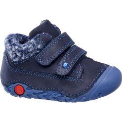 Buciki dziecięce Elefanten granat. Niebieskie buciki niemowlęce chłopięce Elefanten, z materiału, na rzepy. Za 139,90 zł.