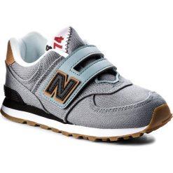 Trampki chłopięce: Sneakersy NEW BALANCE – YV574T2  Szary