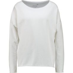 Bluzy rozpinane damskie: Juvia PLAIN SWEAT Bluza white