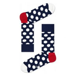 Skarpety Happy Socks Big Dots (BD01-608). Brązowe skarpetki męskie marki NABAIJI, z elastanu. Za 23,99 zł.