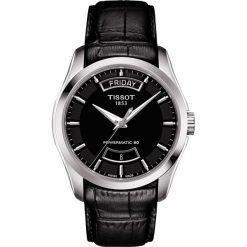 PROMOCJA ZEGAREK TISSOT Couturier Automatic T035.407.16.051.02. Czarne zegarki męskie marki TISSOT, ze stali. W wyprzedaży za 1988,80 zł.