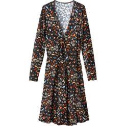 Długie sukienki: Sukienka kopertowa w kwiaty