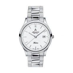 Zegarek Atlantic Damski Sealine  22346.41.21 Szafirowe szkło srebrny. Niebieskie zegarki damskie Atlantic, srebrne. Za 788,99 zł.