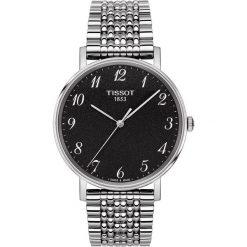 RABAT ZEGAREK TISSOT EVERYTIME GENT T109.410.11.072.00. Czarne zegarki męskie marki TISSOT, ze stali. W wyprzedaży za 968,00 zł.
