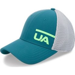 Czapka z daszkiem UNDER ARMOUR - Ua Train Spacer Mesh Cap 1305446-716 Zielony. Zielone czapki z daszkiem damskie marki Under Armour, z materiału. Za 99,95 zł.