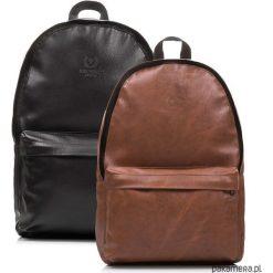 Plecak miejski unisex Paolo Peruzzi Vintage 42h. Brązowe plecaki męskie marki Pakamera, vintage. Za 89,00 zł.