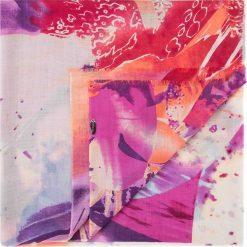 Szal damski 84-7D-W02-X03. Różowe szaliki damskie marki Wittchen, z wełny. Za 269,00 zł.
