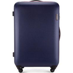 Walizka duża 56-3-613-90. Niebieskie walizki Wittchen, z gumy, duże. Za 279,00 zł.