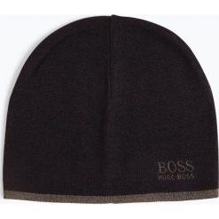 BOSS Casual - Czapka męska – Ciny-2, niebieski. Niebieskie czapki męskie BOSS Casual, z haftami, casualowe. Za 199,95 zł.