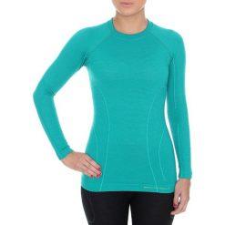 Bluzki sportowe damskie: Brubeck Koszulka damska z długim rękawem Active Wool niebieska r. M (LS12810)