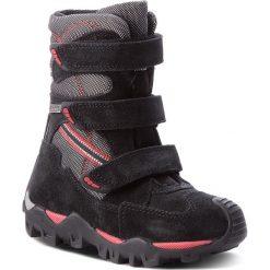 Buty zimowe chłopięce: Śniegowce BARTEK – 94646T-2 Czarno Szary