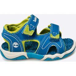 Timberland - Sandały dziecięce. Szare sandały chłopięce marki Timberland, z gumy. W wyprzedaży za 149,90 zł.