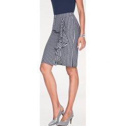Odzież damska: Spódnica w kolorze czarno-białym