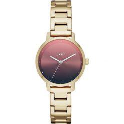Dkny - Zegarek NY2737. Różowe zegarki damskie DKNY, szklane. Za 669,90 zł.
