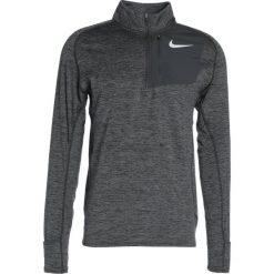 Nike Performance RUNNING THERMA SPHERE Koszulka sportowa black. Niebieskie topy sportowe damskie marki Nike Performance, m, z materiału. W wyprzedaży za 209,30 zł.