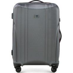 Walizka średnia 56-3P-912-00. Szare walizki marki Wittchen, z gumy, średnie. Za 279,00 zł.