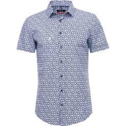 Koszule męskie na spinki: Seidensticker MODERN KENT  Koszula hellblau