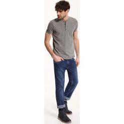 Koszulki męskie: T-SHIRT KRÓTKI RĘKAW MĘSKI GŁADKI