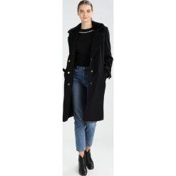 Mint&berry Płaszcz wełniany /Płaszcz klasyczny black. Czarne płaszcze damskie wełniane marki mint&berry, klasyczne. W wyprzedaży za 384,30 zł.