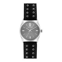 """Zegarki męskie: Zegarek """"ZVF240"""" w kolorze czarno-srebrnym"""