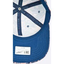Converse - Czapka. Szare czapki z daszkiem damskie marki Converse, z bawełny. W wyprzedaży za 99,90 zł.