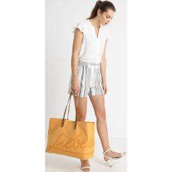 Shopper bag damskie: Liebeskind Berlin VENEZIA LIEBE SHOPPER Torba na zakupy amber yellow with toffee