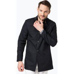 Płaszcze męskie: Finshley & Harding – Płaszcz męski, niebieski